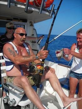 22/08 hooked up Cavalier & Blue Marlin Sport Fishing Gran Canaria