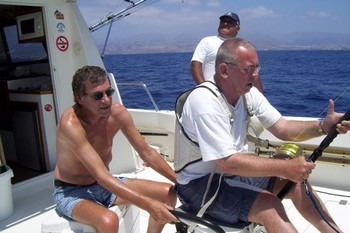 24/08 hooked up Cavalier & Blue Marlin Sport Fishing Gran Canaria