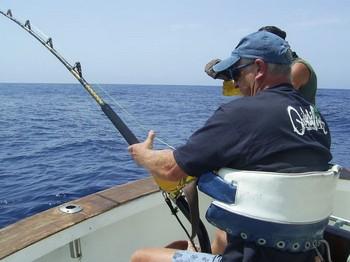 28/08 hooked up Cavalier & Blue Marlin Sport Fishing Gran Canaria