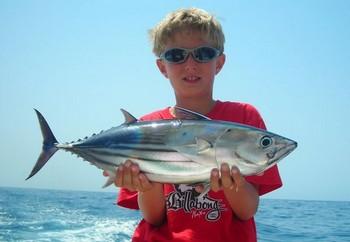 29/08 skipjack tuna Cavalier & Blue Marlin Sport Fishing Gran Canaria