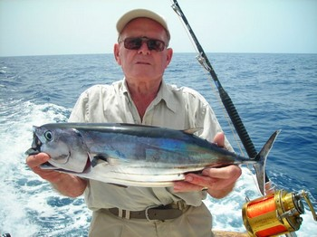30/08 skipjack tuna Cavalier & Blue Marlin Sport Fishing Gran Canaria