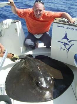 18/09 roughtail stingray Cavalier & Blue Marlin Sport Fishing Gran Canaria