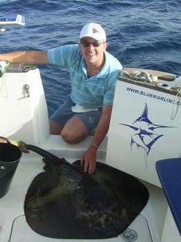 19/09 roughtail stingray Cavalier & Blue Marlin Sport Fishing Gran Canaria
