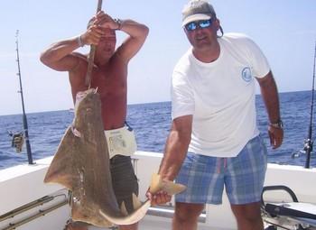 21/09 angelshark Cavalier & Blue Marlin Sport Fishing Gran Canaria