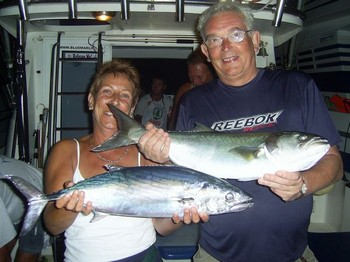 Mel & Nigel Cavalier & Blue Marlin Sport Fishing Gran Canaria