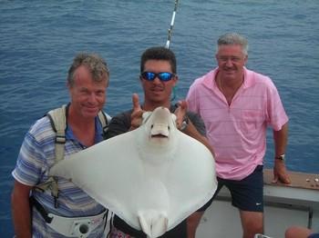 duckbill ray Cavalier & Blue Marlin Sport Fishing Gran Canaria
