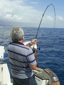 28/09 hooked up Cavalier & Blue Marlin Sport Fishing Gran Canaria