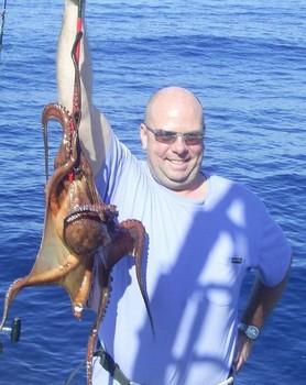 Pulpo Pesca Deportiva Cavalier & Blue Marlin Gran Canaria