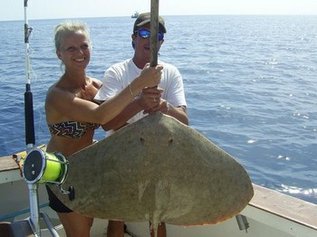 25/10 butterfly ray Cavalier & Blue Marlin Sport Fishing Gran Canaria