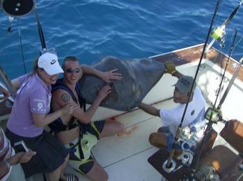 01/11 common stingray Cavalier & Blue Marlin Sport Fishing Gran Canaria