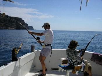 04/11 hook up Cavalier & Blue Marlin Sport Fishing Gran Canaria