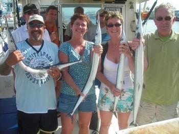 satisfied fisher Cavalier & Blue Marlin Sport Fishing Gran Canaria