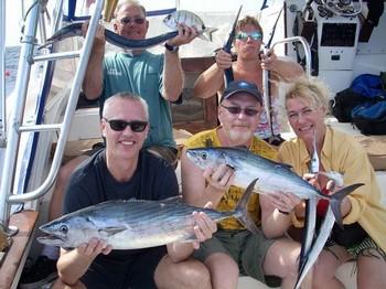 20/11 satisfied anglers Cavalier & Blue Marlin Sport Fishing Gran Canaria