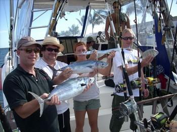 satisfied anglers Cavalier & Blue Marlin Sport Fishing Gran Canaria