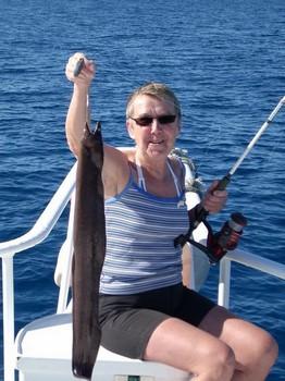 brown moray Cavalier & Blue Marlin Sport Fishing Gran Canaria