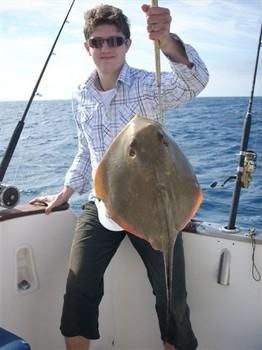 04/12 common stingray Cavalier & Blue Marlin Sport Fishing Gran Canaria