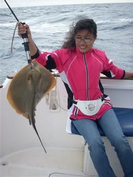 13/12 common stingray Cavalier & Blue Marlin Sport Fishing Gran Canaria