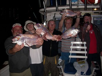 02/01 happy fishermen Cavalier & Blue Marlin Sport Fishing Gran Canaria