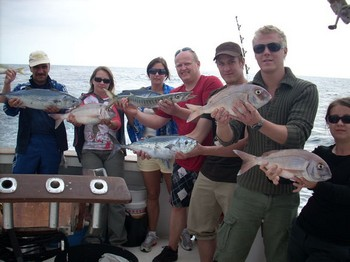 07/01 satisfied anglers Cavalier & Blue Marlin Sport Fishing Gran Canaria