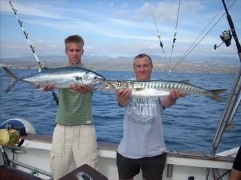 09/01 nice catch Cavalier & Blue Marlin Sport Fishing Gran Canaria