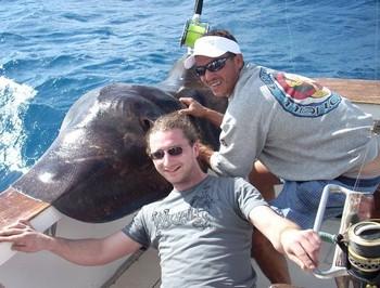 15/01 common stingray Cavalier & Blue Marlin Sport Fishing Gran Canaria