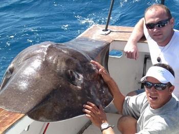 19/01 Roughtail Stingray Cavalier & Blue Marlin Sport Fishing Gran Canaria