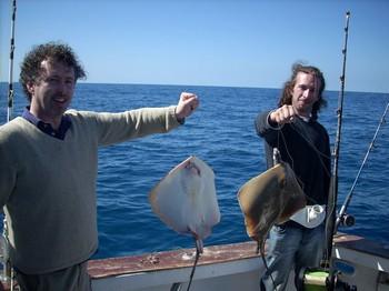 2 happy friends Cavalier & Blue Marlin Sport Fishing Gran Canaria