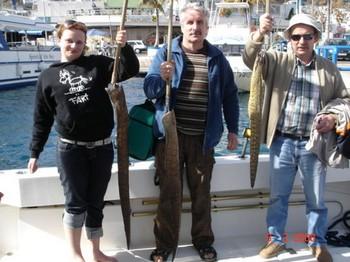 08/02 tiger moray Cavalier & Blue Marlin Sport Fishing Gran Canaria