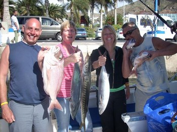 11/02 happy together Cavalier & Blue Marlin Sport Fishing Gran Canaria