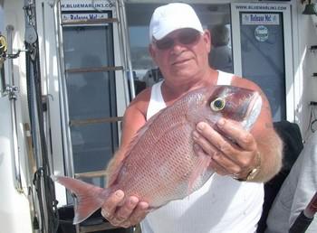 17/02 red snapper Cavalier & Blue Marlin Sport Fishing Gran Canaria