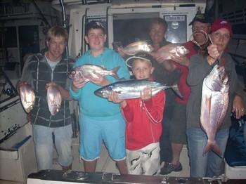 satisfied guests Cavalier & Blue Marlin Sport Fishing Gran Canaria