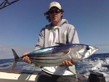 23/02 skipjack tuna Cavalier & Blue Marlin Sport Fishing Gran Canaria