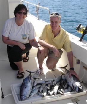 26/02 skipjack tuna & mackerels Cavalier & Blue Marlin Sport Fishing Gran Canaria