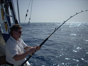 15/03 hooked up Cavalier & Blue Marlin Sport Fishing Gran Canaria