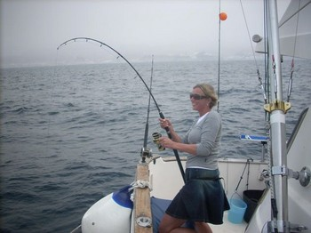 04/04 she did it Cavalier & Blue Marlin Sport Fishing Gran Canaria