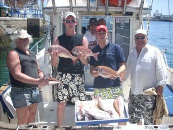 happy clients Cavalier & Blue Marlin Sport Fishing Gran Canaria