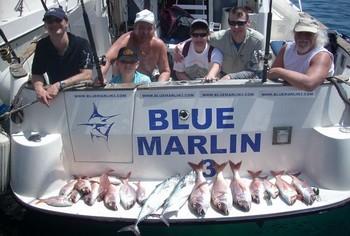15/04 happy fishermen Cavalier & Blue Marlin Sport Fishing Gran Canaria