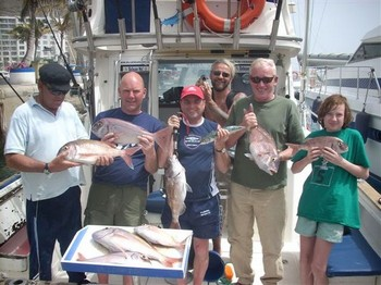 26/04 red snappers Cavalier & Blue Marlin Sport Fishing Gran Canaria