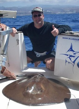 07/05 roughtail stingray Cavalier & Blue Marlin Sport Fishing Gran Canaria