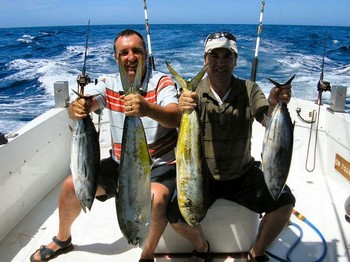 08/05 nice catch Cavalier & Blue Marlin Sport Fishing Gran Canaria