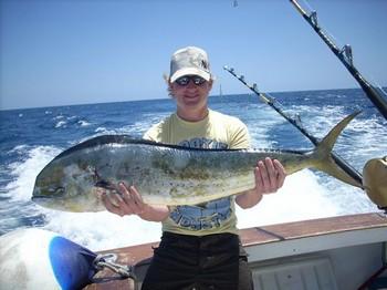 13/05 dorado Cavalier & Blue Marlin Sport Fishing Gran Canaria