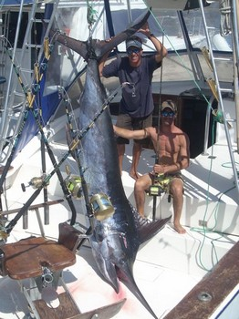 19/05 blue marlin Cavalier & Blue Marlin Sport Fishing Gran Canaria