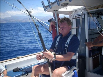 hooke up Cavalier & Blue Marlin Sport Fishing Gran Canaria