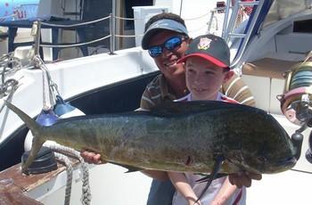 03/07 dorado Cavalier & Blue Marlin Sport Fishing Gran Canaria