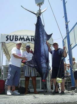 10/07 blue marlin Cavalier & Blue Marlin Sport Fishing Gran Canaria