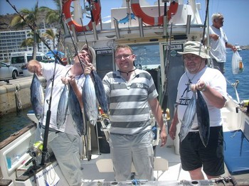 18/07 skipjack tuna Cavalier & Blue Marlin Sport Fishing Gran Canaria