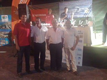 26/07 the winners Cavalier & Blue Marlin Sport Fishing Gran Canaria
