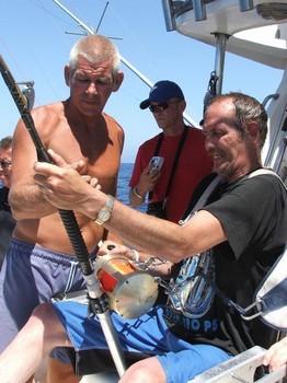 65 minutes Cavalier & Blue Marlin Sport Fishing Gran Canaria