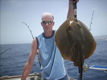 31/07 common stingray Cavalier & Blue Marlin Sport Fishing Gran Canaria