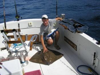 03/08 common stingray Cavalier & Blue Marlin Sport Fishing Gran Canaria